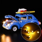 LED Light Lighting Kit ONLY For LEGO 10252 For Volkswagen Model Bricks