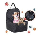 Dog Bag Pet Car Carrier Dog Carry Storage Bag Pet Booster Seat Covers Waterproof Non-slip Pad For Travel 2-In-1 Carrier Bucket Basket