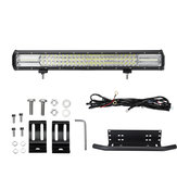 Barra combinata da 22 pollici 108LED DC10-30V 648W 64800LM LED Light Bar IP67