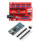 Carte d'extension Funduino Nano + ATmega328P Nano V3 sans soudure Geekcreit pour Arduino - produits compatibles avec les cartes Arduino officielles