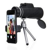 40x60 HD Clip per telescopio / treppiede per la visione notturna da caccia militare con zoom monoculare