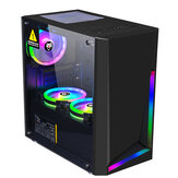 Dream Computer Gaming Chassis Custodia per computer RGB Micro ATX ATX Custodia per PC Mini-ITX Chassis desktop USB 3.0