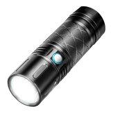 XANES FL6 SST40 2800LM Super Brignt 500 m USB-Akku mit großer Reichweite 18650 LED Taschenlampe