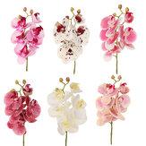 3D人工蝶蘭の花ホームウェディングパーティーカーDIYホームデコレーション
