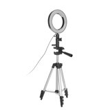 LED Ring ضوء Photo Studio الة تصوير ضوء Photography Dimmable فيديو ضوء for Youtube Makeup Selfie with Tripod هاتف Holder