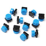 100Pcs Tactile Button Switch Momentary Tact Caps