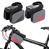 WHEEL UP 009A Bicycle Rainproof Cell هاتف Bike Frame Front Head Bags Pannier Top Tube Bag