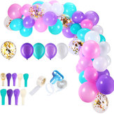 113Pcs Multicolor Balloon Arch Garlands Sets Confetti Latex Balloons Chain Floral Garl Wedding Decoration