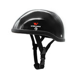 WOSAWE Half Face Cover Sports Helmet Breathable Motorcycle Snowboard Skateboarding Cycling Bike Bicycle Waterproof Safety Caps