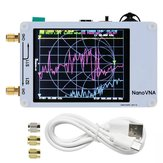 Original NanoVNA Vector Network Analyzer HF VHF UHF Antenna Analyzer Standing Wave Frequency Range 50KHz -900MHz Touch Screen