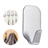 3KG Self Adhesive Bathroom Wall Door Stainless Steel Holder Home Hook
