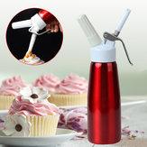 500 ml de café batido Postre dispensador de crema de mantequilla fresca Whipper Cake Maker herramienta dispensador de masa para pastel