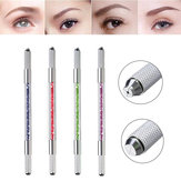 Manual Eyebrow Tattoo Pen Permanent Embroidery Cross-stitch Carving Makeup Tool