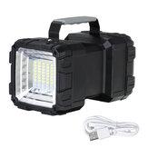 40W / 60W Lumineux Camping Lumière Double Têtes USB Rechargeable Worklight Lampe de Poche Extérieure Lumière Projecteur