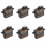 6PCS Emax ES9051 4.3g Mini digital Servo para modelo RC