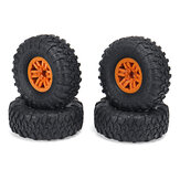 4PCS RC Car Tires & Wheels Rims for HB Toys ZP1001 1/10 RC Vehicles Spare Parts
