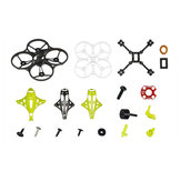 LDARC ET85 Spare Part 88mm Frame Kit w/ Canopy Buzzer Combo Set for RC Drone FPV Racing