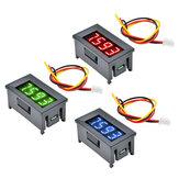 Mini 0,36 Zoll Digital LED Display 4 Bits DC 0 V-100 V Voltmeter Meter Tester 3 Drähte Spannungsmesser Panel Tester Rot / Blau / Grün