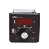 NNC-172A 220V High Power Oven Temperature Controller Temperature Thermostat Range 0℃~300℃ with Therucouple E