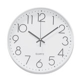 12 Inches 30CM Wall Clock Living Room Non Ticking Modern Big Office 4-Types