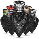 Crâne de protection contre le soleil, soie, respirant, foulard multi-usage, masque facial, tête, chapeau, casquette de moto