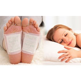50 pcs Anti-inchaço Ginger Detox Foot Patch melhorar o sono Health Care Emagrecer Patch