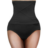 Plus Size High Waisted Control Belly Shaping Panties