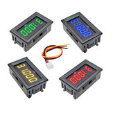 DC 4V-30V 0.36 Inch 5 Digit Mini LED Display Digital Voltmeter Voltage Detector Panel Meter High Accuracy 3 Wires