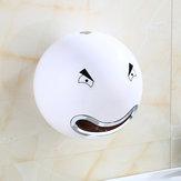 Wandmontage Leuke Cartoon Gezicht Badkamer Toiletpapier Tissue Doos Rolhouder