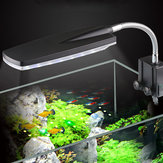 3/4/5W Aquarium Fish Tank LED Light Waterproof Plant Grow Lighting Clip on Desk Lamp
