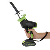 Rechargeable Cordless Reciprocating Saw Handheld Wood & Metal Cutting Tool Kit
