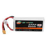 XF POWER 14.8V 6000mAh 60C 4S Lipo Batteria XT60 Spina per auto RC