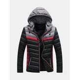 Erkek Casual Kış Dikiş Aşağı Sıcak Ceket