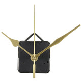 Quartz Clock Movement Mechanism Gold Hands DIY Repair Parts Tool Kit Home Office