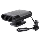 2 in 1 Portable Car Heater Cooler Fan 12V/24V Air Warmer Windscreen Demister Defroster