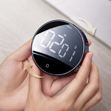 Baseus Magnetic Digital Timers Alarm Clock Mechanical Cooking Timer Alarm Counter Clock from Ecological Chain