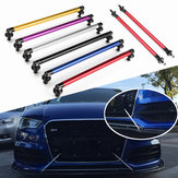 Universal 200mm Adjustable Front Rear Bumper Protector Lip Splitter Rod Support Bars Kit