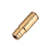 9MM Laser Bore Sighter Red Dot Sight Brass Cartridge Boresighter Caliber