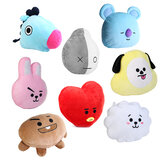 For KPOP BTS BT21 TATA SHOOKY RJ SUGA COOKY JIMIN Bed Plush Pillow Doll