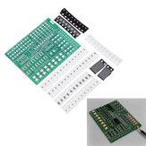 15 canaux LED Kit de contrôleur de lanterne Composant SMD Compétences en brasage Carte d'exercices Production électronique Kit de bricolage