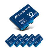 MicroData 8GB 16GB 32GB 64GB 128GB Class 10 High Speed TF Memory Card With Card Adapter For Mobile Phone Tablet Speaker Camera GPS