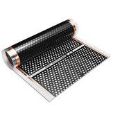 Cuscinetti per pellicola a pavimento infrarossi reticolati a pellicola reticolare a nido d'ape da 50-200 cm 220W