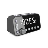 DAB + FM Radio LED Digital Alarm Clock Desk Table Snooze Timer with Dual USB
