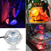ZANLURE DC 5V IP65 Waterproof Aquarium LED Light RGB Multicolor Fish Tank Light Reef Lamp Spotlight with Remote Control