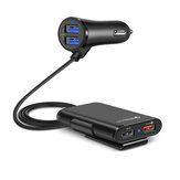 Universal 4 Ports USB Car Fast Charger QC3.0 Quick Charging USB Adapter