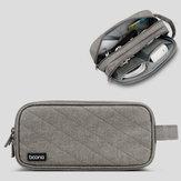 Boona 23 * 11 cm Akcesoria cyfrowe Torba do przechowywania Ładowarka USB Kabel USB Mysz Flash Drive Organizer Torba na słuchawki douszne