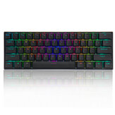 FEKER 60% NKRO bluetooth 5.0 Type-C Outemu Switch PBT Double Shot Keycap RGB Mechanical Gaming Keyboard--Black