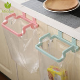 Towel Shelf Holders Cupboard Bag Clips Door Back Trash Rack Storage Garbage Bag Holder Hanging Kitchen Cabinets Storage Bag