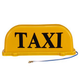 Universal 26cm TAXI Cab Sign Auto Magnetic Lamp Dach Top Topper Licht wasserdicht gelb