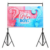 5x3FT 7x5FT Girl or Boy Reveal Photography Backdrop Studio Prop Background
